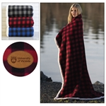 "Lumberjack Sherpa Throw - 50"" x 60"""
