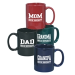 Coloured C-Handle Mug - 11 oz.