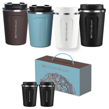 Cafe Compact Coffee Cup Gift Set - 13 oz.