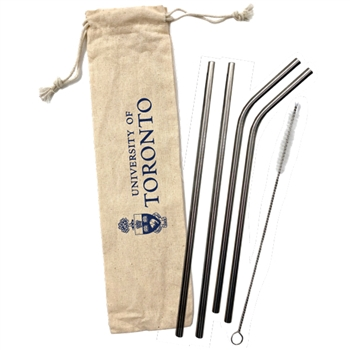 Stainless Steel Straw Set - 5 pc.
