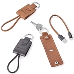 Nathan Leather Key Ring Charging Kit