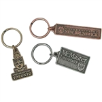 Cast Metal Key Tag