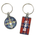 Digi-Cal Keytag with Full Colour Dome