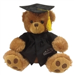 "10"" Patches Paw Grad Bear"