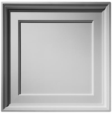 Executive Coffer Plaster Ceiling Tile