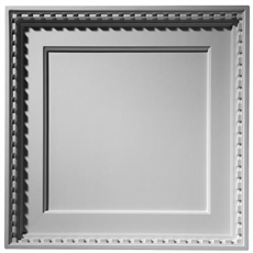 Coffered Dentil Plaster Ceiling Tile