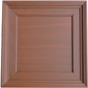Executive Woodgrain Coffer Plaster Ceiling Tile