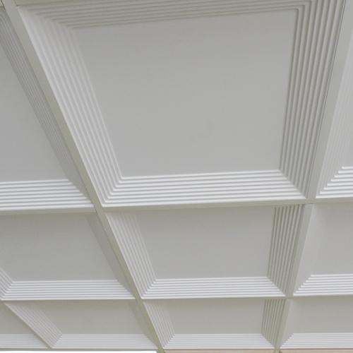 Art Deco Coffer Contemporary Ceiling Tile Ceiling Tile