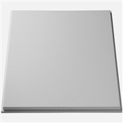 Smooth Reveal Panel Plaster Ceiling Tile