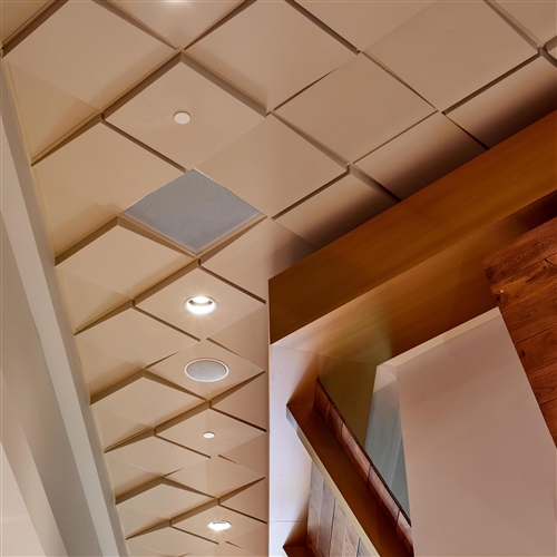 Wedge Contemporary Ceiling Tile