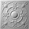 French Medallion Plaster Ceiling Tile