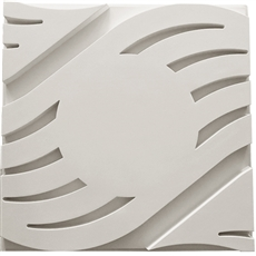 Wave B Smooth Center Ceiling Tile
