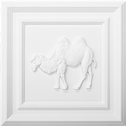 Classic Panel Camel for 9/16 Grid Plaster Ceiling Tile