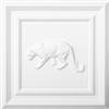 Classic Panel Cougar for 9/16 Grid Plaster Ceiling Tile