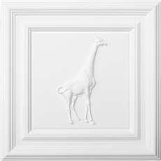 Classic Panel Giraffe for 9/16 Grid Plaster Ceiling Tile