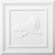 Classic Panel Lion for 9/16 Grid Plaster Ceiling Tile