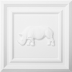Classic Panel Rhino for 9/16 Grid Plaster Ceiling Tile