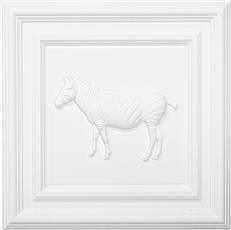 Classic Panel Zebra for 9/16 Grid Plaster Ceiling Tile