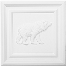 Classic Panel Bear for 9/16 Grid Plaster Ceiling Tile