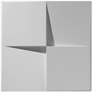Quad Wedge Plaster Wall Tile