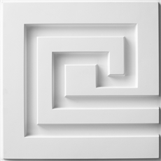 Greek Key A Plaster Wall Tile