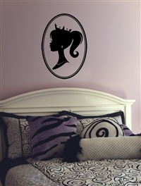 Cameo wall decal sticker