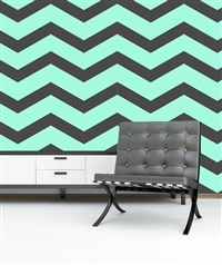 Chevron Zig Zag Pattern Wall Decals Stickers