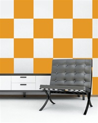 Checker wall decals stickers