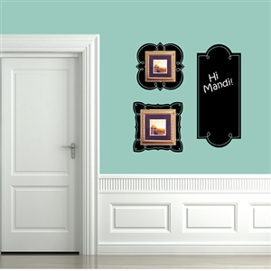 Cute Note Picture Frame Set Wall Decals Stickers