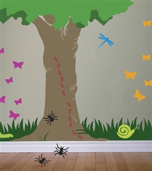 Bugs wall decals stickers
