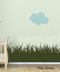 Grassy Plains wall decal sticker