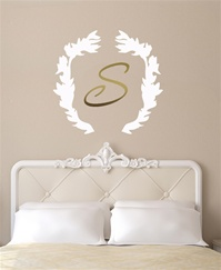Laurel Wreath wall decal sticker