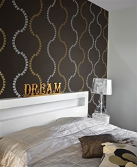 Loop Stripes wall decals stickers