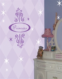 Princess Frame wall decal sticker