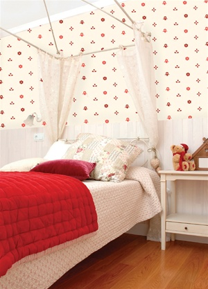 Sweeties Country Pattern wall decal stickers