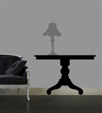 Classic Table wall decal sticker