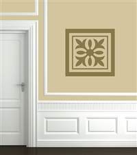 Ceiling or Wall Tile Ornamental decal sticker