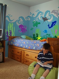 Under The Sea Ocean & Animal wall decal stickers
