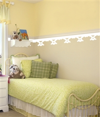 Victorian border wall decals stickers