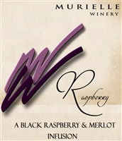 Black Raspberry Merlot Wine By Murielle Winery