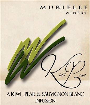 Kiwi Pear Sauvignon Blanc by Murielle Winery