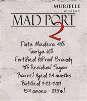 Mad Port llI (375ml)