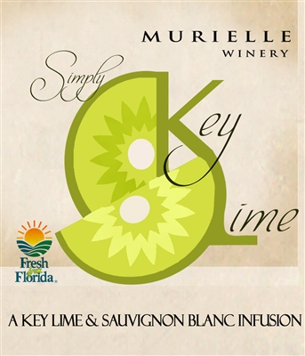 Simple Key Lime Wine by Murielle Winery