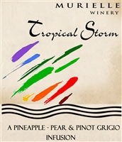 Tropical Storm Sweet White Wine by Murielle Winery