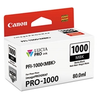 Canon PFI-1000 Matte Black Ink Tank for imagePROGRAF PRO-1000