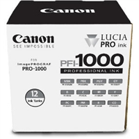 Canon PFI-1000 Twelve Ink Pack for imagePROGRAF PRO-1000