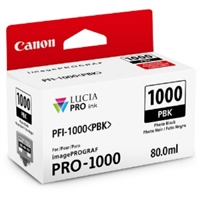 Canon PFI-1000 Photo Black Ink Tank for imagePROGRAF PRO-1000