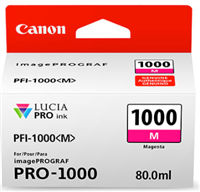 Canon PFI-1000 Magenta Ink Tank 80ml