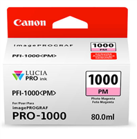 Canon PFI-1000 Photo Magenta Ink Tank 80ml for imagePROGRAF PRO-1000