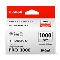 Canon PFI-1000 Photo Gray Ink Tank 80ml for imagePROGRAF PRO-1000